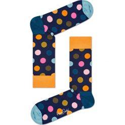 Happy Socks - Skarpetki Big Dot. Niebieskie skarpety damskie Happy Socks, z bawełny. Za 39.90 zł.