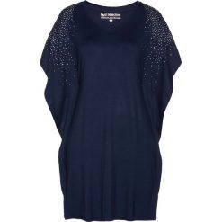 Tunika shirtowa bonprix ciemnoniebieski. Niebieskie tuniki damskie bonprix. Za 79.99 zł.