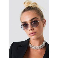 NA-KD Accessories Metalowe okulary przeciwsłoneczne - Grey,Silver. Okulary przeciwsłoneczne damskie marki QUECHUA. W wyprzedaży za 48.57 zł.