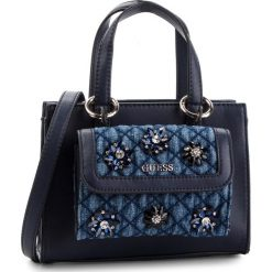 Torebka GUESS - HWVD70 99760  BLU. Niebieskie torebki do ręki damskie Guess, z materiału. Za 589.00 zł.