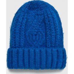 Medicine - Czapka Basic. Niebieskie czapki i kapelusze damskie MEDICINE. W wyprzedaży za 19.90 zł.