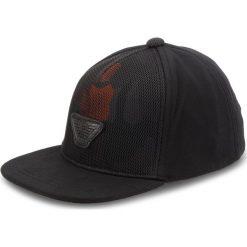 Czapka z daszkiem EMPORIO ARMANI - Junior Boy's Baseball 404568 8A525 00020  L Black. Czarne czapki i kapelusze męskie Emporio Armani. Za 319.00 zł.
