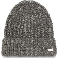 Czapka GUESS - AW7882 WOL01 M GRY. Szare czapki i kapelusze damskie Guess, z materiału. Za 139.00 zł.