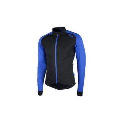 Bluza rowerowa męska Rogelli Caluso 2.0 XL. Niebieskie bluzy sportowe męskie Rogelli, z nadrukiem, z materiału. Za 122.90 zł.