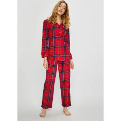 Lauren Ralph Lauren - Piżama. Szare piżamy damskie Lauren Ralph Lauren, z bawełny. Za 459.90 zł.