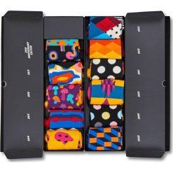 Happy Socks - Skarpetki Year Anniversary Gift Box (komplet). Szare skarpety damskie Happy Socks, z bawełny. Za 399.90 zł.