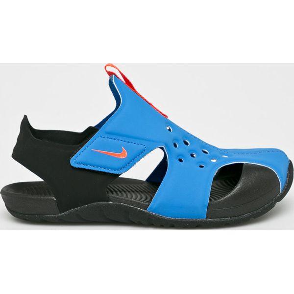 Nike Performance SUNRAY PROTECT Sandały kąpielowe schwarz