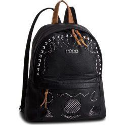 Plecak NOBO - NBAG-F0780-C020 Czarny. Czarne plecaki damskie Nobo, ze skóry ekologicznej, klasyczne. W wyprzedaży za 159.00 zł.