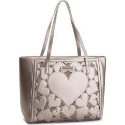 Torebka LOVE MOSCHINO - JC4049PP16LH0910 Peltro. Brązowe torby na ramię damskie Love Moschino. W wyprzedaży za 669.00 zł.