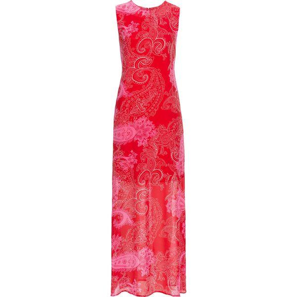 8f330fcbf8 Letnia sukienka szyfonowa bonprix truskawkowy paisley - Czerwone ...