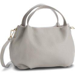 Torebka CREOLE - K10499  Szary. Szare torebki do ręki damskie Creole, ze skóry. Za 179.00 zł.