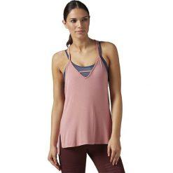 Reebok Koszulka damska Favorite Strappy TA Sanros różowa r. M (BR0415). T-shirty damskie Reebok. Za 121.82 zł.