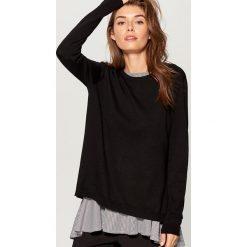 Sweter z bluzką - Czarny. Czarne swetry damskie Mohito. W wyprzedaży za 79.99 zł.
