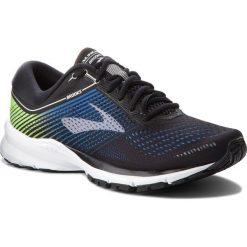 Buty BROOKS - Launch 5 110278 1D 016 Black/Blue/Green. Czarne buty sportowe męskie Brooks, z materiału. W wyprzedaży za 329.00 zł.