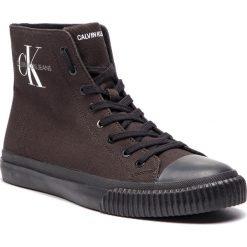 Trampki CALVIN KLEIN JEANS - Icaro S0594 Black. Czarne trampki męskie Calvin Klein Jeans, z gumy. Za 519.00 zł.