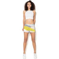 Colour Pleasure Spodnie damskie CP-020 26 biało-żółte r. XS/S. Spodnie dresowe damskie Colour Pleasure. Za 72.34 zł.