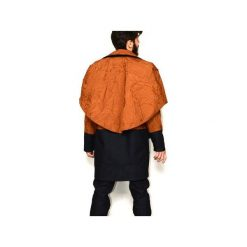 Płaszcz CORE. Brązowe płaszcze męskie Zwyrd, z jeansu. Za 2,849.00 zł.
