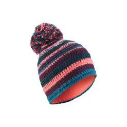 Czapka narciarska MIXYARN. Czerwone czapki i kapelusze damskie WED'ZE. Za 69.99 zł.