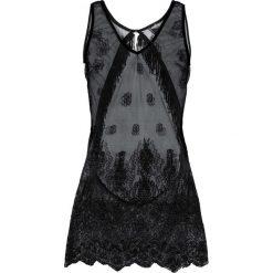 Koszulka nocna bonprix czarny. Czarne koszule nocne damskie bonprix, w koronkowe wzory, z koronki. Za 74.99 zł.