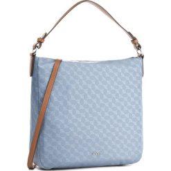 Torebka JOOP! - Dina 4140003314 Light Blue. Niebieskie torebki do ręki damskie JOOP!, z materiału. W wyprzedaży za 389.00 zł.