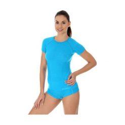 Brubeck Koszulka damska active wool niebieska r. L (SS11700). T-shirty damskie Brubeck. Za 151.27 zł.