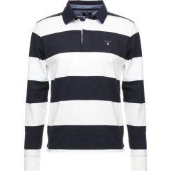 GANT THE ORIGINAL BARSTRIPE HEAVY RUGGER Koszulka polo eggshell. Bluzki z długim rękawem męskie GANT, z bawełny, z długim rękawem. Za 419.00 zł.