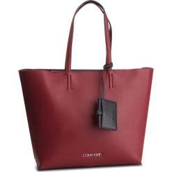 Torebka CALVIN KLEIN - Tack Shopper K60K604833 242. Czerwone torebki shopper damskie Calvin Klein, ze skóry ekologicznej. Za 649.00 zł.