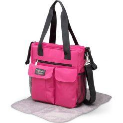 Torba w kolorze różowym na akcesoria do przewijania - 30 x 34 x 10 cm. Torby na ramię męskie marki Kazar. W wyprzedaży za 109.95 zł.