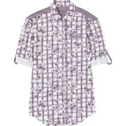 Koszula nocna z dżerseju, z plisą guzikową bonprix w kratę - w kwiaty. Koszule nocne damskie marki MAKE ME BIO. Za 37.99 zł.