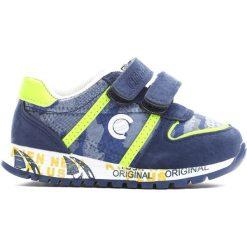 Niebiesko-Zielone Buty Sportowe Do Fine. Niebieskie buty sportowe chłopięce Born2be, z materiału. Za 59.99 zł.