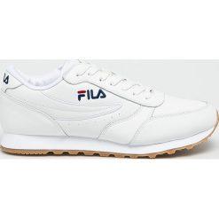 Fila - Buty Orbit Jogger low. Szare buty sportowe męskie Fila, z materiału. W wyprzedaży za 269.90 zł.