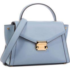 Torebka MICHAEL MICHAEL KORS - Whitney 30T8GXIS2L Pale Blue. Niebieskie torebki do ręki damskie MICHAEL Michael Kors, ze skóry. W wyprzedaży za 1,139.00 zł.