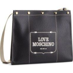 Torebka LOVE MOSCHINO - JC4072PP17LH0200 Nero. Czarne listonoszki damskie Love Moschino, ze skóry ekologicznej. Za 959.00 zł.