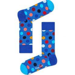 Happy Socks - Skarpety Big Dot. Niebieskie skarpety męskie Happy Socks. W wyprzedaży za 27.90 zł.