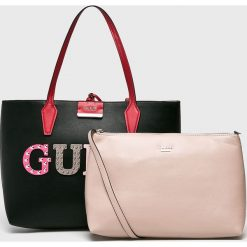 Guess Jeans - Torebka dwustronna. Szare torby na ramię damskie Guess Jeans. Za 599.90 zł.