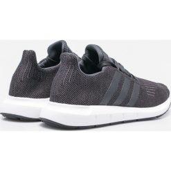 Adidas Originals - Buty Swift Run. Szare buty sportowe męskie adidas Originals, z materiału. Za 379.90 zł.