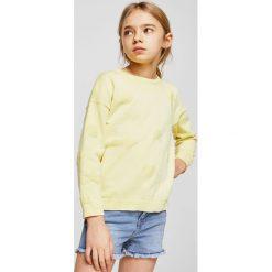 Mango Kids - Szorty dziecięce Isabel 104-164 cm. Spodenki dla dziewczynek Mango Kids, z bawełny, casualowe. W wyprzedaży za 49.90 zł.