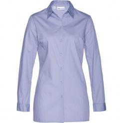 Długa  bluzka bonprix jasny lawendowy. Fioletowe bluzki damskie bonprix, z długim rękawem. Za 69.99 zł.