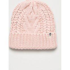The North Face - Czapka. Szare czapki i kapelusze damskie The North Face, z dzianiny. W wyprzedaży za 99.90 zł.