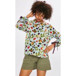Medicine - Bluzka Basic. Szare bluzki damskie MEDICINE, z tkaniny, casualowe, z okrągłym kołnierzem. W wyprzedaży za 39.90 zł.