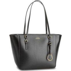 Torebka LAUREN RALPH LAUREN - Bennington 431687508001  Medium Black. Czarne torebki do ręki damskie Lauren Ralph Lauren, ze skóry. Za 1,049.90 zł.