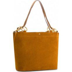 Torebka TORY BURCH - Farrah Tote 48917 Dark Tiramisu. Brązowe torebki do ręki damskie Tory Burch, ze skóry. W wyprzedaży za 1,469.00 zł.
