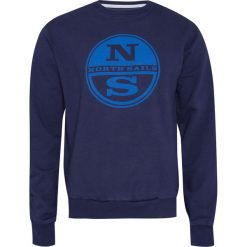 Bluza NORTH SAILS Granatowy. Bluzy męskie North Sails, z dzianiny. Za 128.00 zł.