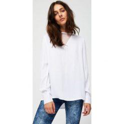 Bluzki i tuniki damskie z koszulowym kołnierzykiem  cYBJs