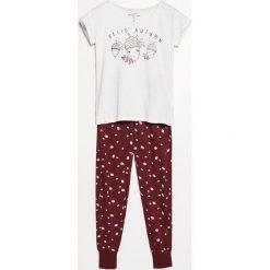 Piżama ze spodniami - Jasny szar. Szare piżamy damskie Reserved. Za 99.99 zł.