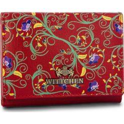 Mały Portfel Damski WITTCHEN - 14-1S-913-3X Red. Czerwone portfele damskie Wittchen, ze skóry. W wyprzedaży za 149.00 zł.