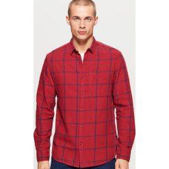 Koszula w kratę - Bordowy. Czerwone koszule damskie Cropp. Za 79.99 zł.