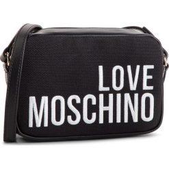 Torebka LOVE MOSCHINO - JC4153PP17LO0000 Nero. Czarne listonoszki damskie Love Moschino, z materiału. Za 589.00 zł.