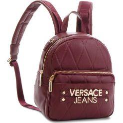 Plecak VERSACE JEANS - E1VSBBL2 70712 331. Czerwone plecaki damskie Versace Jeans, z jeansu, eleganckie. W wyprzedaży za 549.00 zł.