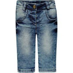 Dżinsy w kolorze niebieskim. Jeansy dla dziewczynek marki bonprix. W wyprzedaży za 47.95 zł.